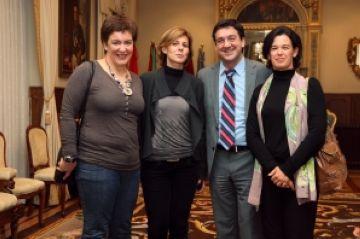 Intercanvi d'experiències dels serveis socials i d'atenció de Vitòria i Sant Cugat