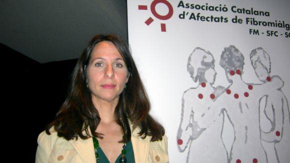 Viviana Fiszson: 'Alguns metges no consideren la fibromiàlgia una malaltia'