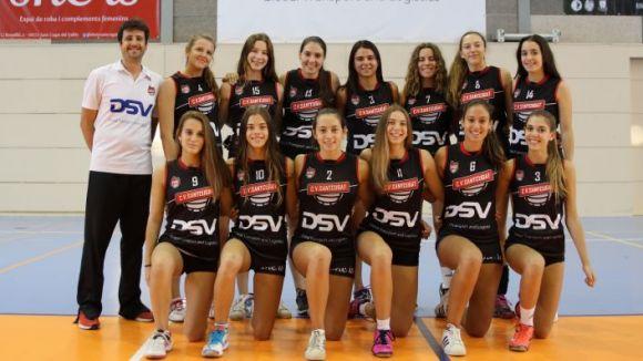 L'equip entrenat per Lluc Forn s'ha proclamat campió de Catalunya / Font: Volei Sant Cugat