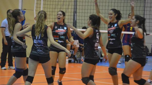 Imatge d'arxiu / Font: Club Voleibol Sant Cugat