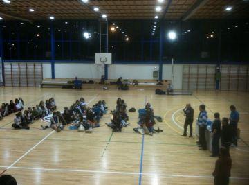 El juvenil B del Club Voleibol Sant Cugat es queda fora de les semifinals a Getxo