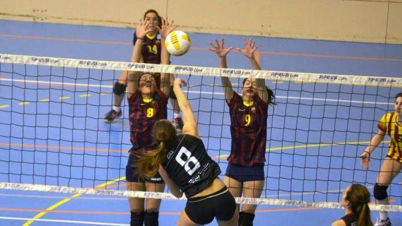 El Volei SC s'enfrontarà al Barça en semifinals del Campionat d'Espanya juvenil