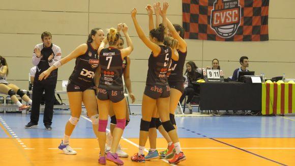 El DSV-Club Voleibol Sant Cugat afiança la sisena plaça després de guanyar el VP Madrid