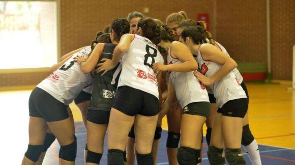 El Volei Sant Cugat juga avui la segona semifinal de la Superlliga Catalana