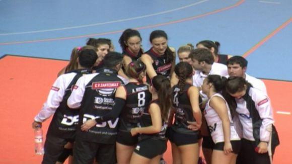 El DSV-Volei Sant Cugat passa per sobre del Torrejón i encara somia amb la Copa