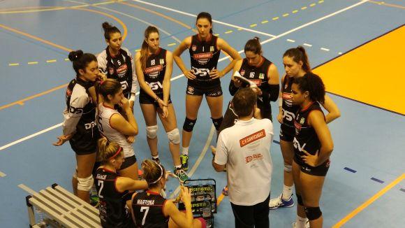 Imatge de les jugadores del DSV-Volei Sant Cugat