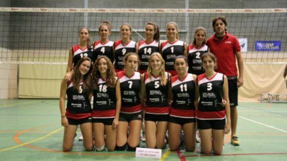 L'edició més nombrosa del torneig del Voleibol Sant Cugat