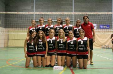 El cadet del Club Voleibol Sant Cugat perd i finalitza segon a l'estatal