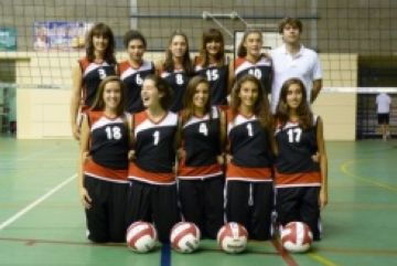 El cadet del Club Voleibol Sant Cugat accedeix a la segona fase de l'Estatal