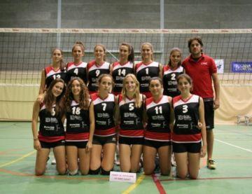 El cadet del Club Voleibol Sant Cugat finalitza en 14a posició al torneig Paolo Bussinello