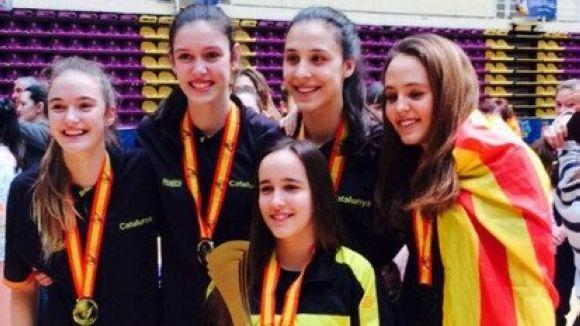 Cinc jugadores del Volei Sant Cugat guanyen l'Estatal de seleccions autonòmiques