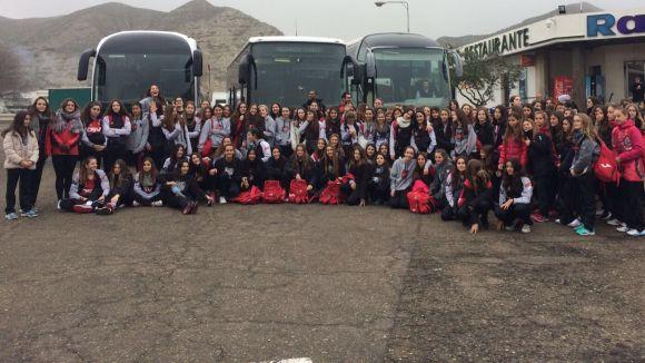 El DSV-Voleibol Sant Cugat participa amb 12 equips al Campionat d'Espanya infantil i cadet