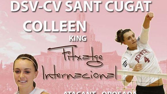 Colleen King, nova incorporació de l'equip / Font: DSV- Club Voleibol Sant Cugat