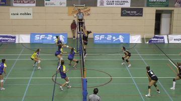 El Club Voleibol Sant Cugat compleix el tràmit davant el cuer