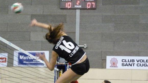 Tercera victòria en quatre partits del Volei Sant Cugat a la fase d'ascens