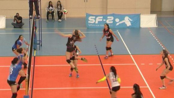 El DSV-Voleibol Sant Cugat fa un pas de gegant i supera el CV Cuesta Piedra