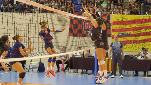 El DSV-Voleibol Sant Cugat rep un Haro Rioja al que només li val la victòria