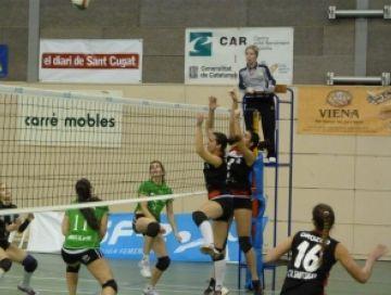 El Club Voleibol Sant Cugat perd a Alcobendas amb un resultat enganyós