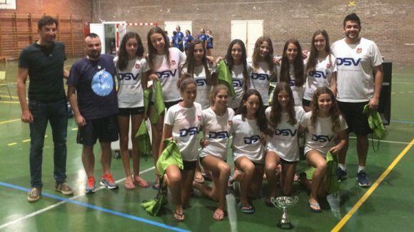 El Club Voleibol Sant Cugat ha acabat en vuitena posició a Mòdena / Font: CVSC