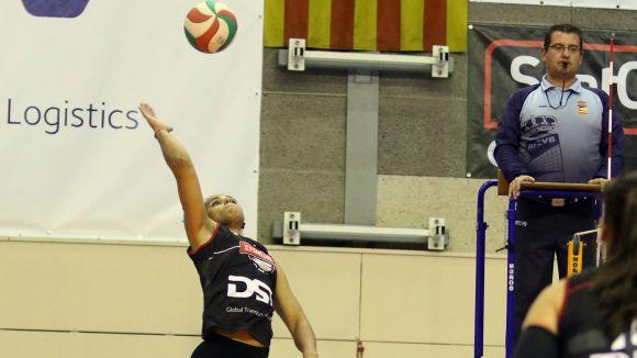 El Voleibol Sant Cugat es torna a encallar i cau a casa contra l'Avarca Menorca