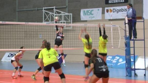 El DSV-Voleibol Sant Cugat aspira a mantenir el lideratge fins a final de temporada