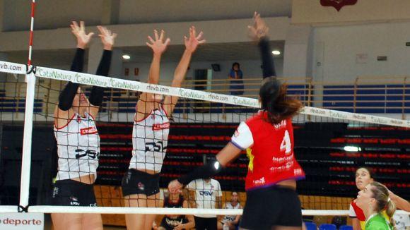 El DSV-Club Voleibol Sant Cugat frega la proesa i es queda a les portes de la Copa per només un punt