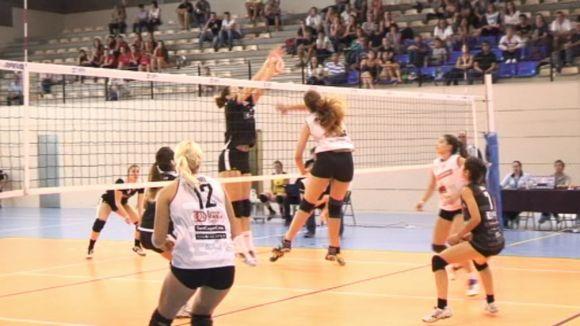 El Club Voleibol Sant Cugat guanya davant el cuer, el Leganés