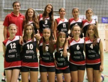 El Club Voleibol Sant Cugat, present al Torneig Base Ciutat de Rubí en les tres categories