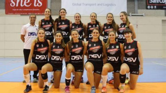 El juvenil A del Volei Sant Cugat / Font: Club Voleibol Sant Cugat