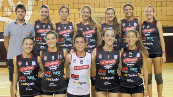 El Volei Sant Cugat es classifica per la segona fase al Campionat d'Espanya juvenil