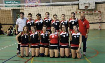 El juvenil del Voleibol Sant Cugat, subcampió estatal
