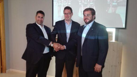 L'empresa DSV es converteix en el nou patrocinador del Volei Sant Cugat