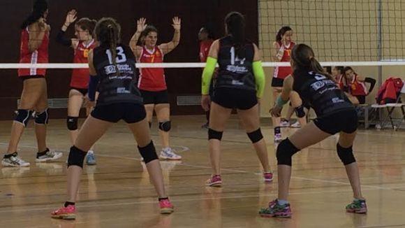 El Volei Sant Cugat ho té molt complicat per ser a semifinals