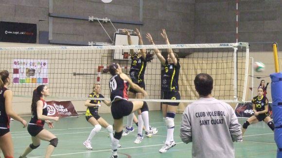 El Volei Sant Cugat s'apropa al play-off d'ascens
