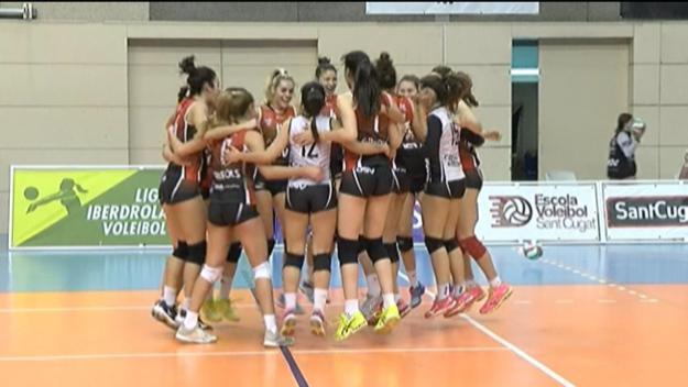 El DSV- Club Voleibol supera l'Emevé i surt del descens per primera vegada a la temporada