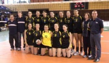 Les seleccions catalanes de voleibol mostren la seva superioritat