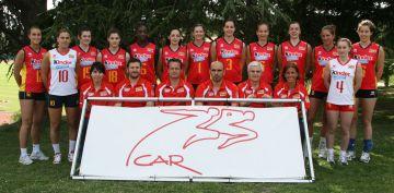 La selecció espanyola de voleibol, a Sant Cugat