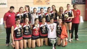 El Club Voleibol Sant Cugat guanya la Superlliga femenina a la nostra ciutat