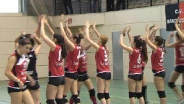 El Club Voleibol Sant Cugat jugarà contra el Gran Canaria 2014 la final de Superlliga júnior
