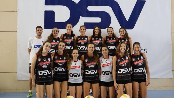 L'equip júnior del Club Voleibol Sant Cugat / Font: Carles Bisbe