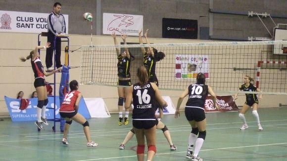 El Voleibol Sant Cugat perd a Extremadura davant un rival molt superior