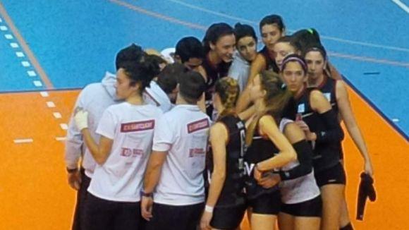 El júnior del DSV-Club Voleibol Sant Cugat