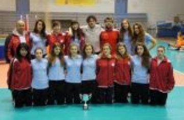 El Club Voleibol Sant Cugat, quart a la Superlliga júnior