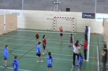 Jornada de voleibol escolar