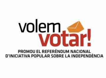 Sant Cugat es prepara per a la campanya a favor d'un referèndum oficial sobre la independència de Catalunya