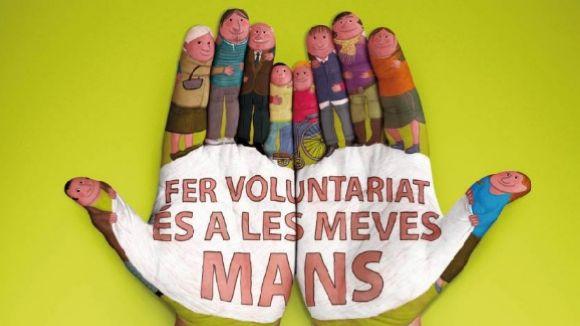 L'Oficina del Voluntariat celebra cinc anys amb 700 voluntaris i la voluntat de créixer en qualitat