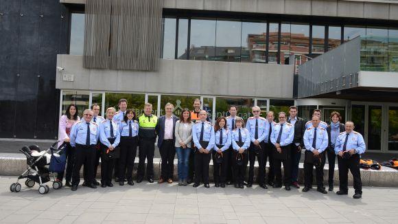 Atorgats els diplomes a 15 voluntaris de Protecció Civil