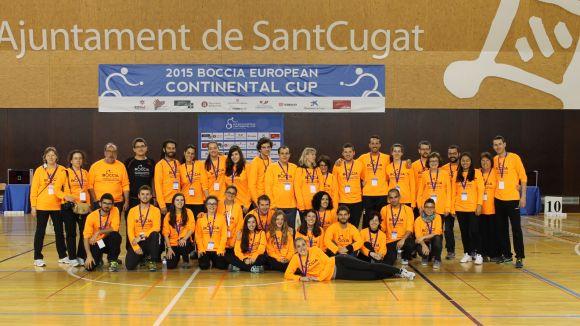 Voluntaris de l'anterior Europeu disputat a Sant Cugat / Font: Localpres