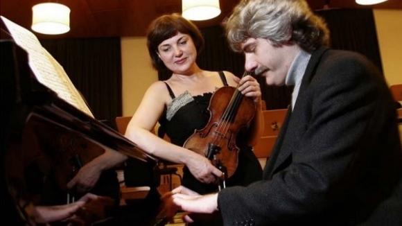 Concert: Ala Voronkova, violí; i Guerassim Voronkov, piano
