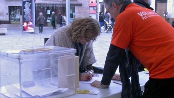 'Signa un vot per la Independència' recull més de 4.500 adhesions en dos dies